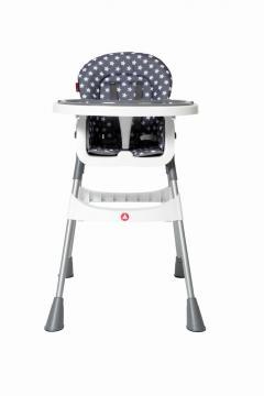 JESS Jídelní židle vysoká šedá