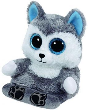 Plyšová zvířátka - držák na mobil - Peek-a-Boos SCOUT - husky