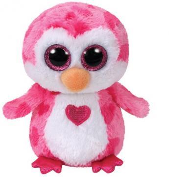 Beanie Boos JULIET - růžový tučňák