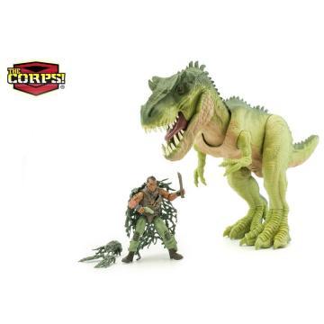 Voják s dinosaurem
