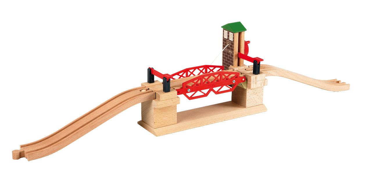 Železniční most s výtahem