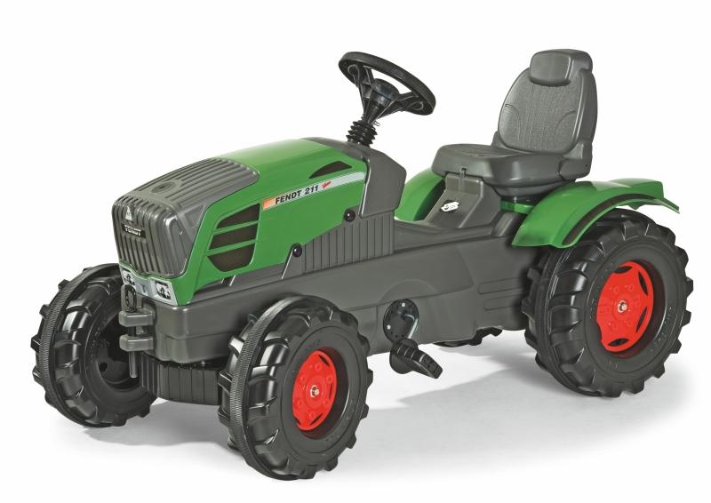 Šlapací traktor Farmtrac Fendt 211 Vario