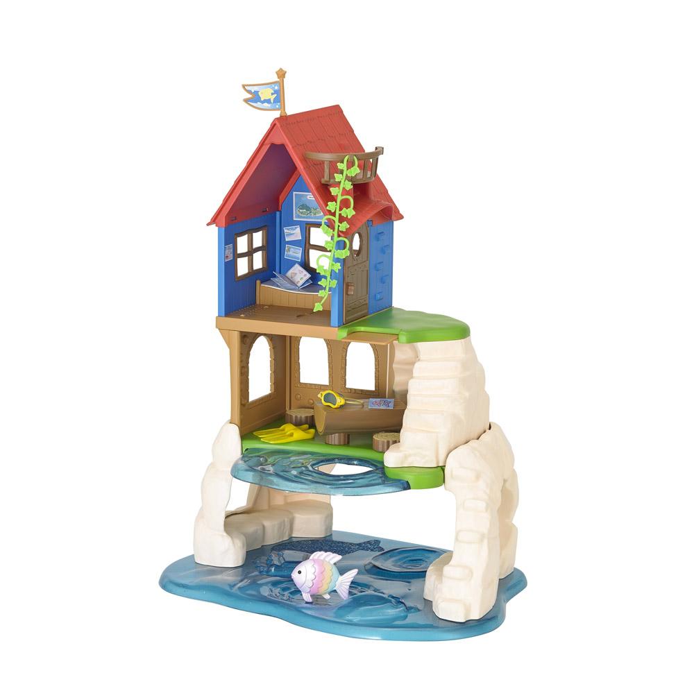 Zábavný hrací domeček u moře