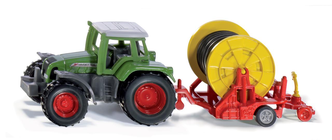 SIKU Blister - Traktor se zavlažovacím kotoučem
