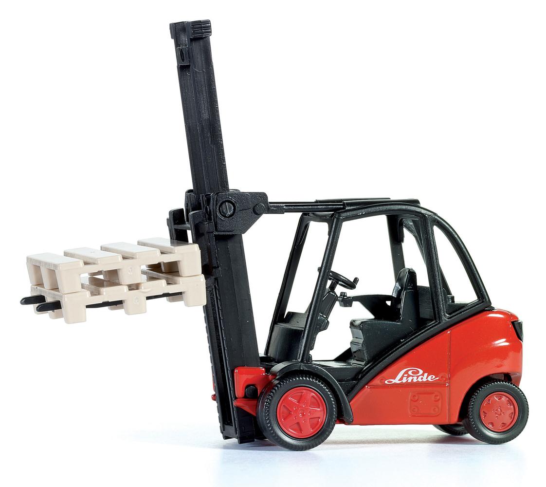 SIKU Super - Vysokozdvižný vozík Linde, měřítko 1:50
