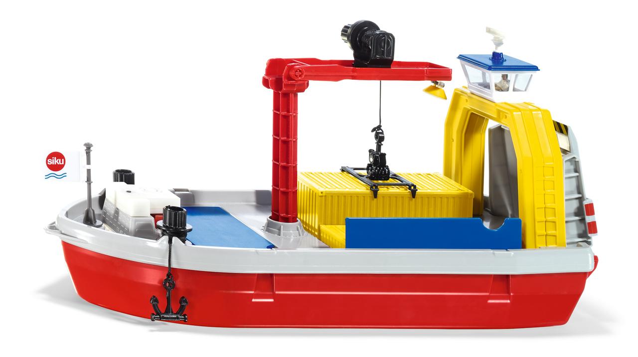 SIKU World - Loď přepravující kontejnery