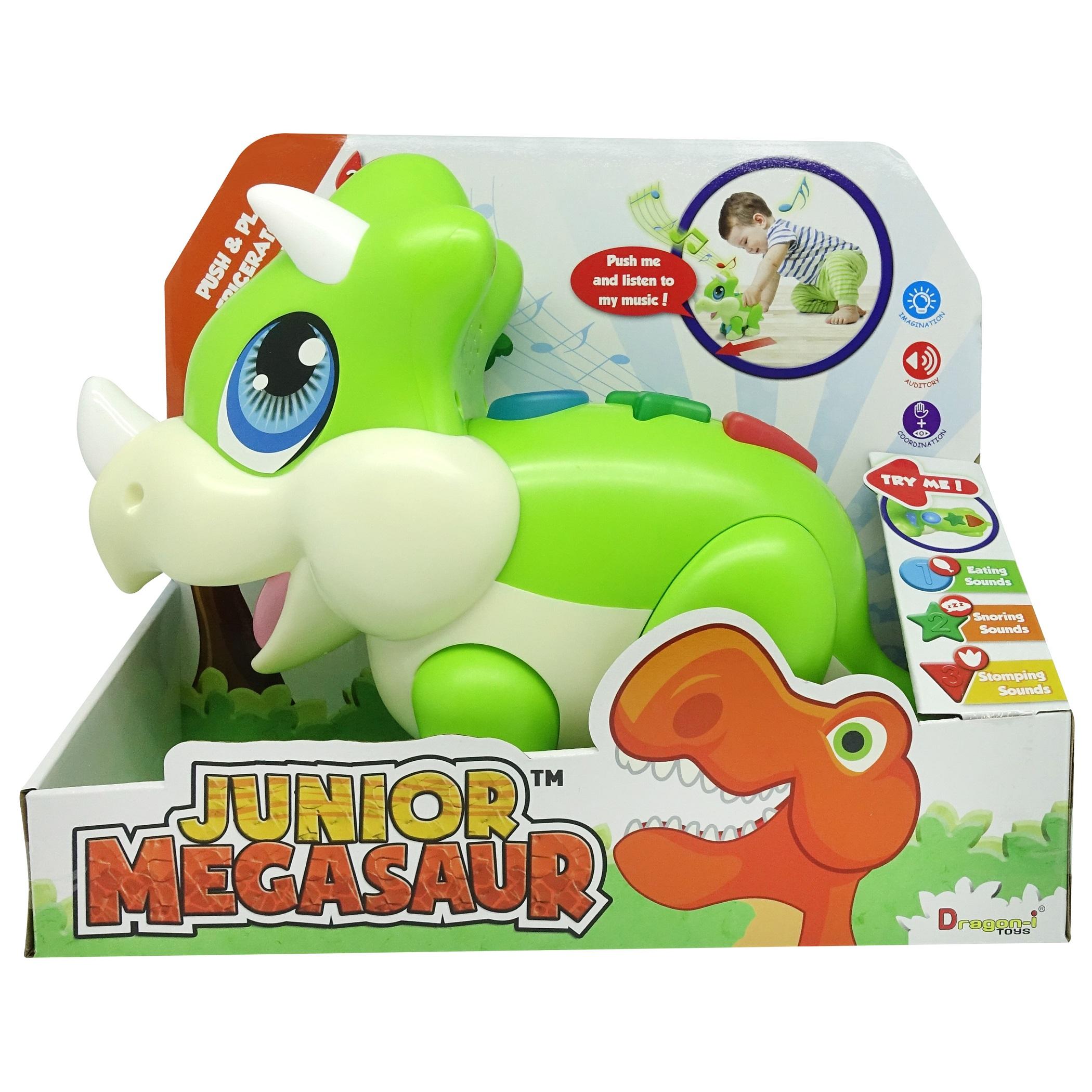 Junior Megasaur: Triceratops se zvuky