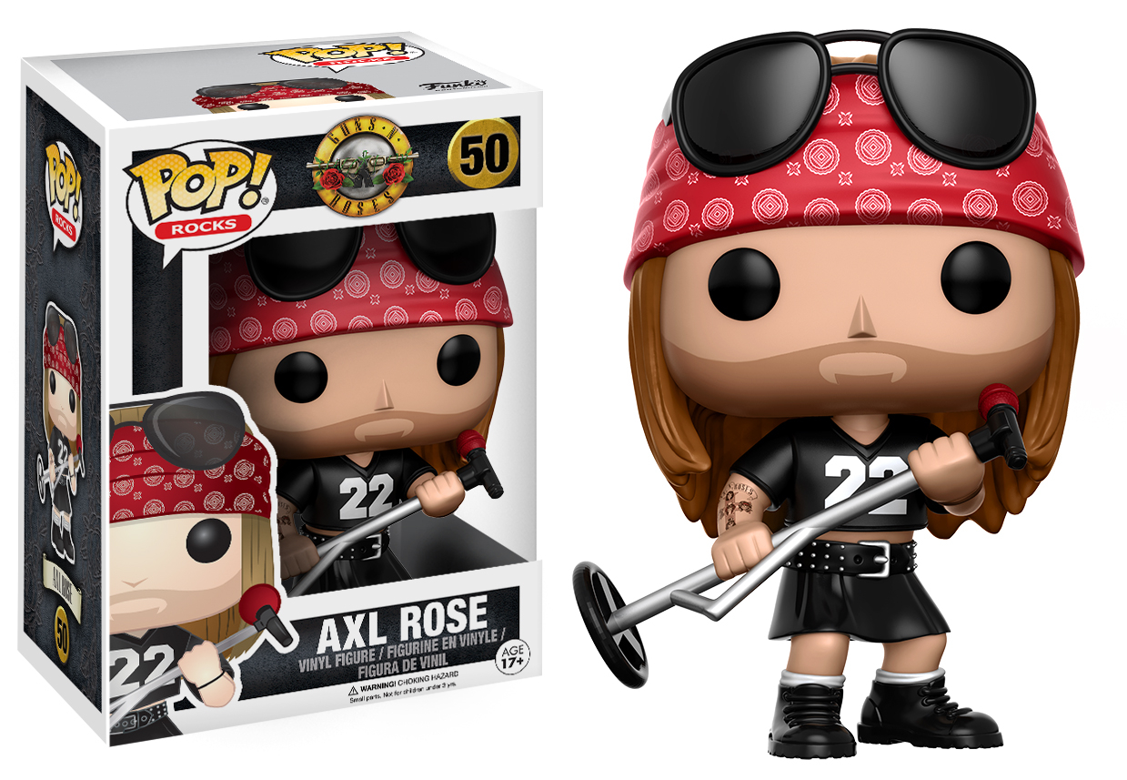 Funko POP Rocks: Guns N Roses - Axl Rose