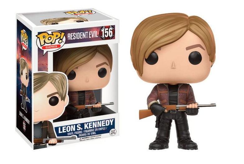 Funko POP Games: Resident Evil - Leon S. Kennedy