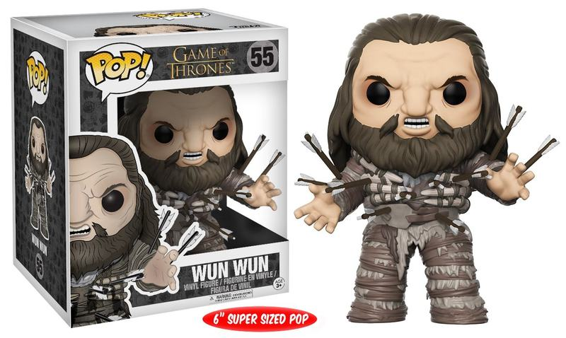 "Funko POP TV: Game of Thrones 6"" Wun Wun w/ Arrows"