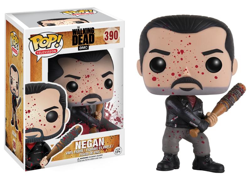 Funko POP TV: The Walking Dead - Negan Bloody (Exc)  (CC)