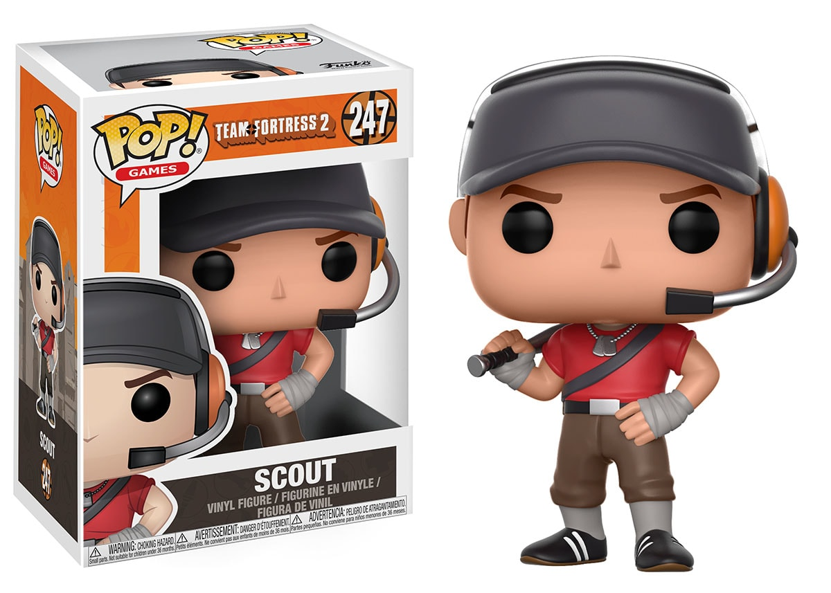 Funko POP: Games Team Fortress 2 - Scout