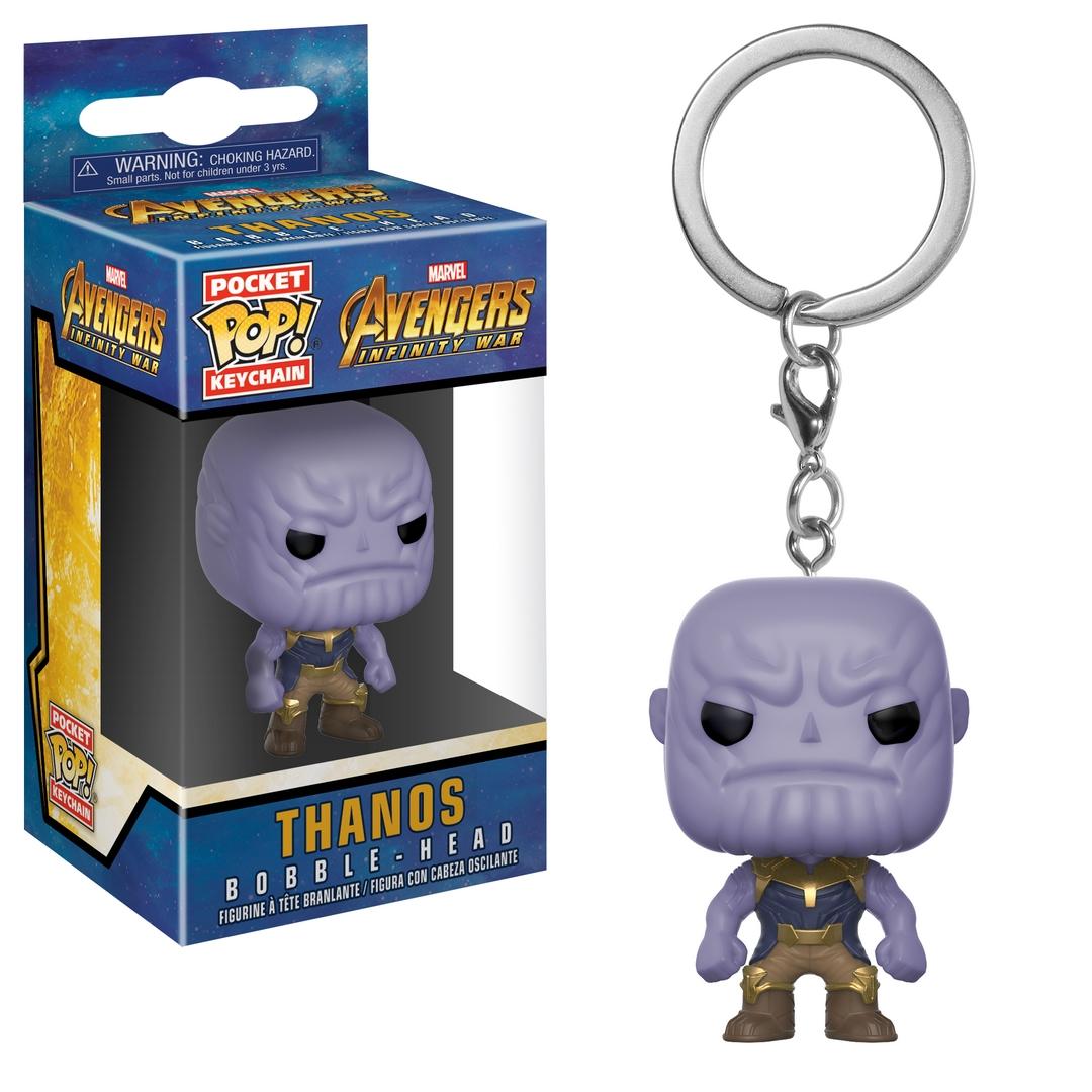 Funko POP Keychain: Marvel Avengers Infinity War Thanos