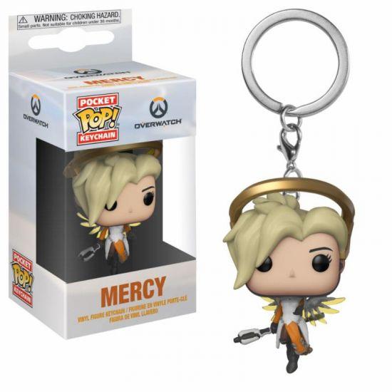 Funko POP Keychain: Overwatch: Mercy