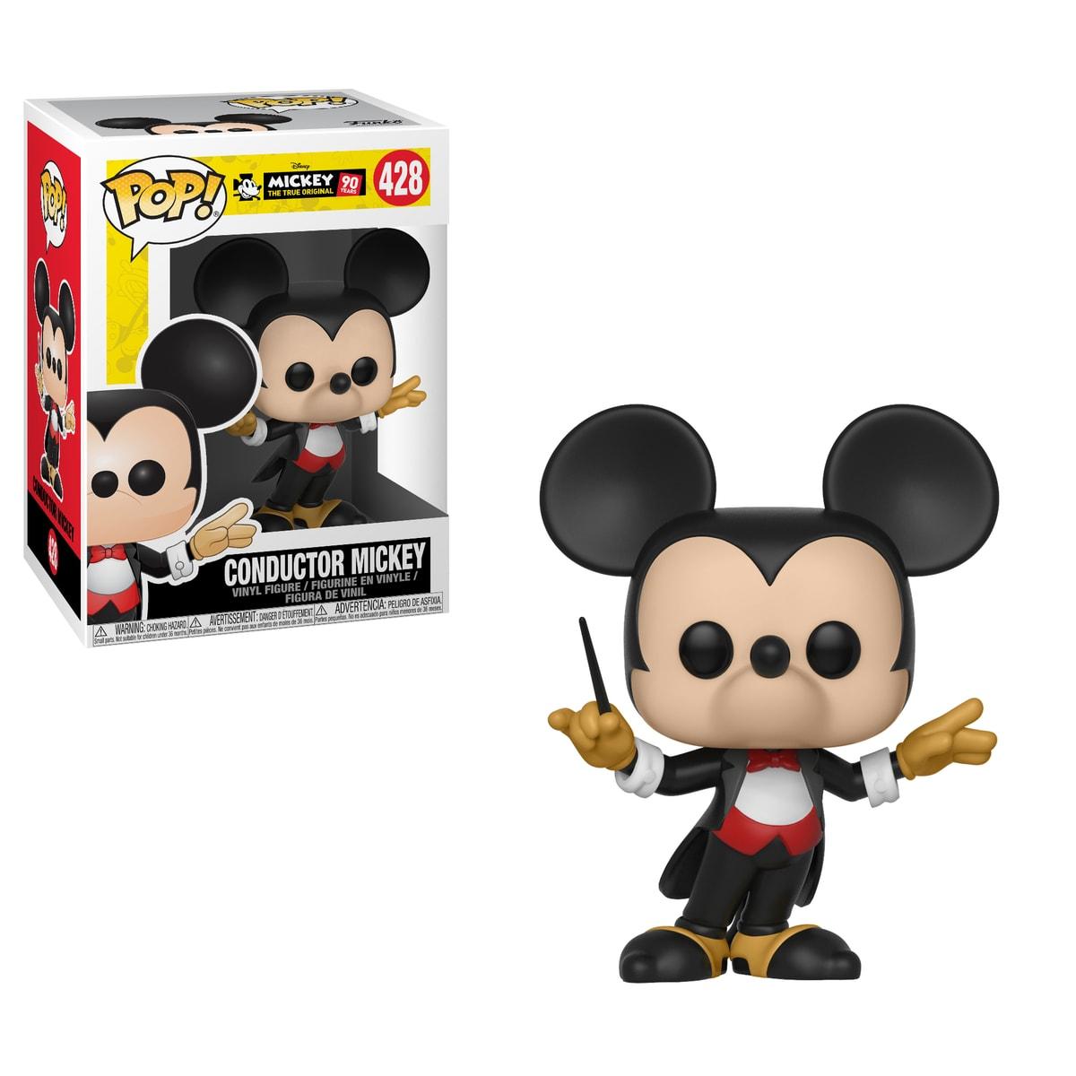 Funko POP Disney: Mickey's 90th Anniversary - Conductor Mickey