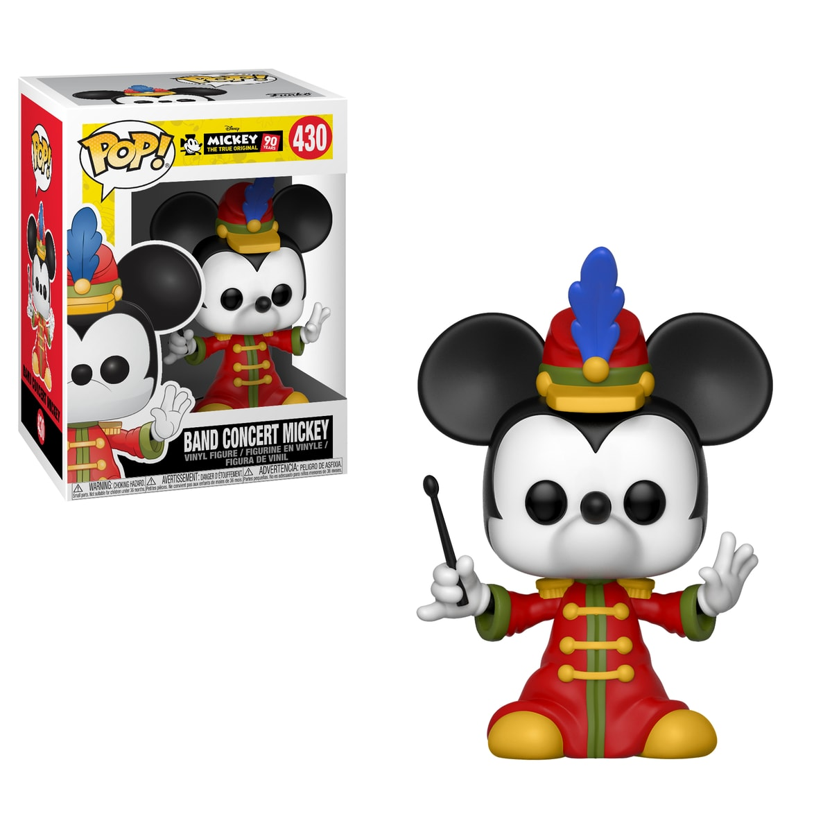 Funko POP Disney: Mickey's 90th Anniversary - Band Concert Mickey (Exc)