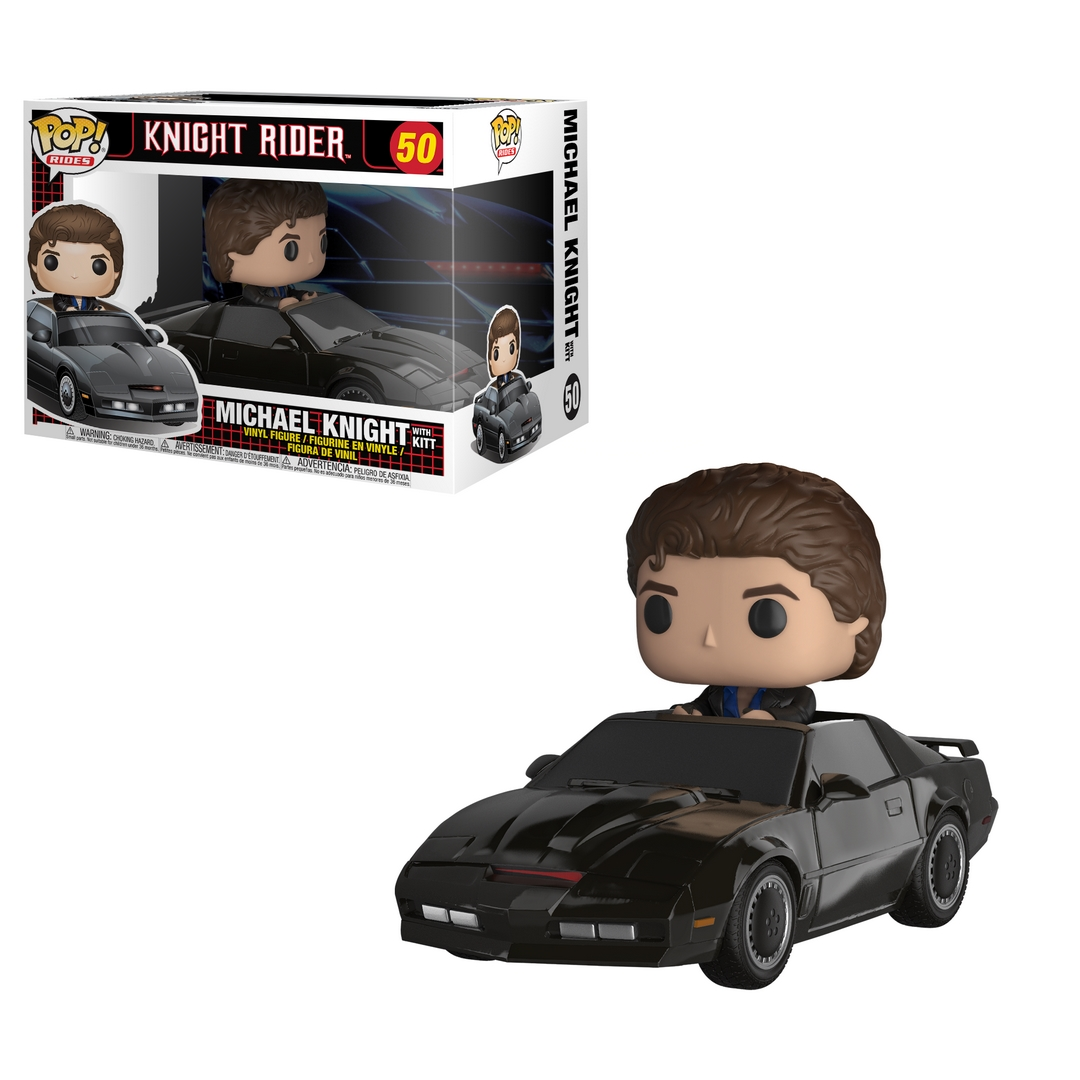 Funko POP TV Rides: Knight Rider KITT & Michael Knight