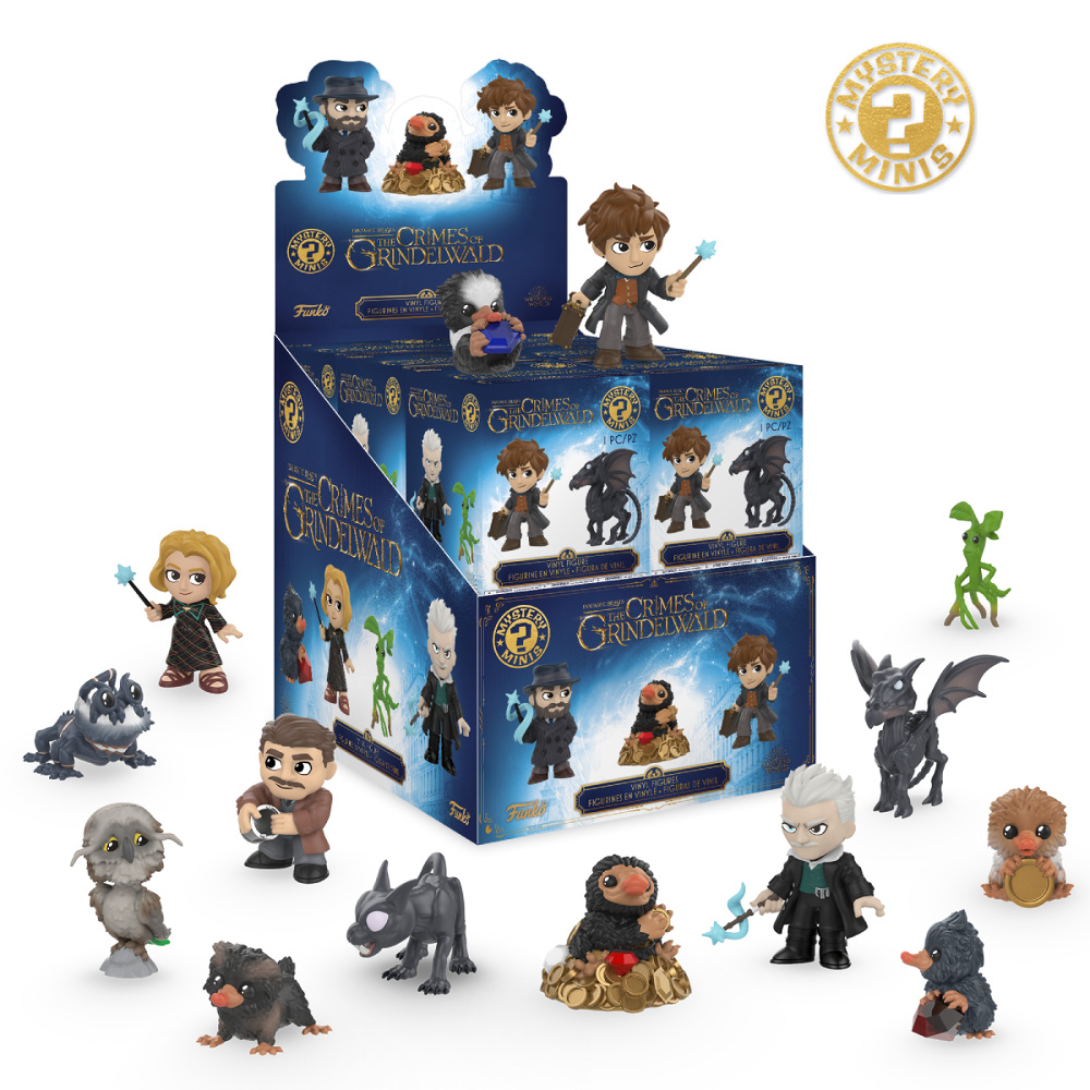Funko Mystery Minis: Fantastic Beasts 2.