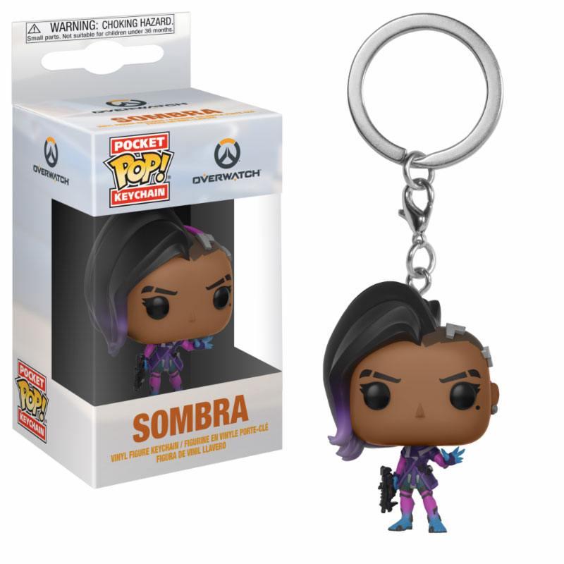 Funko POP Keychain: Overwatch: Sombra