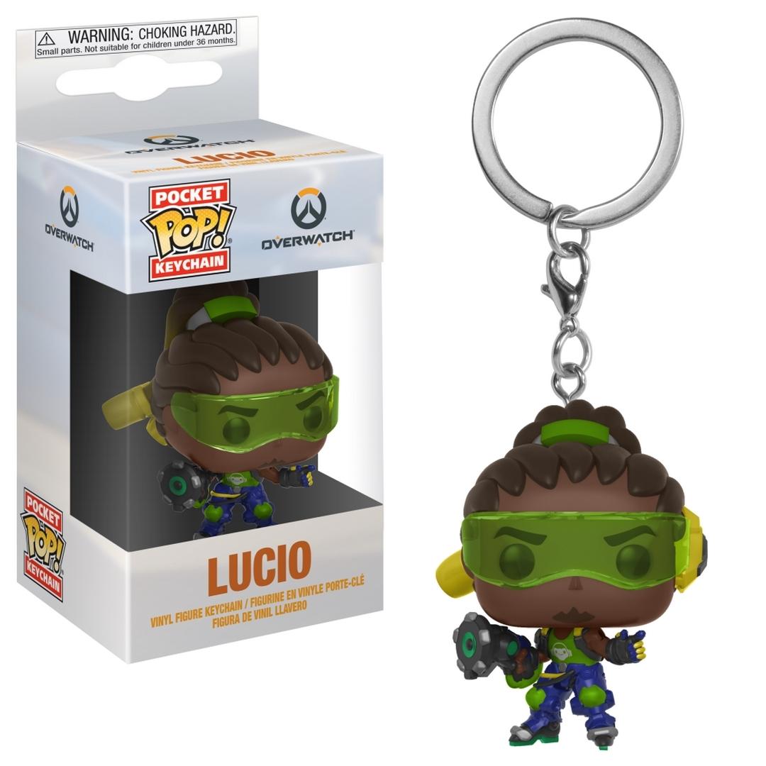 Funko POP Keychain: Overwatch: Lucio