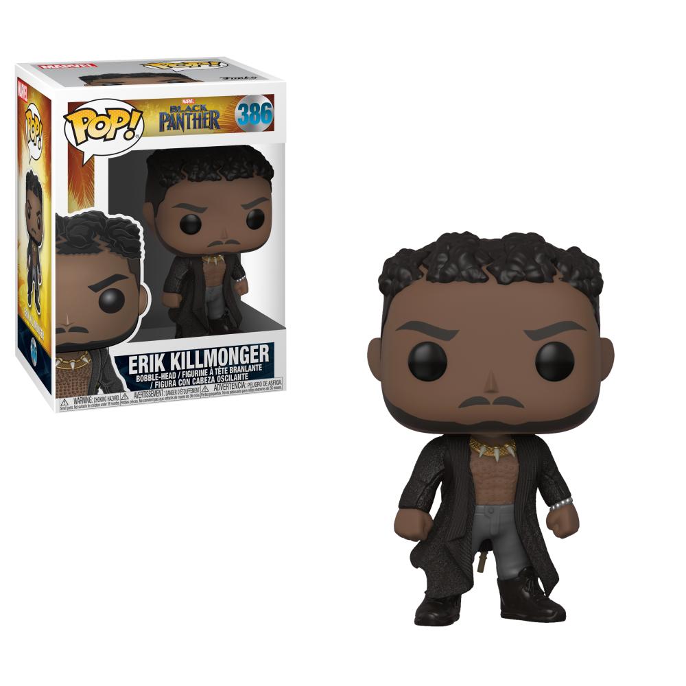 Funko POP Marvel: Black Panther - Killmonger w/ Scars