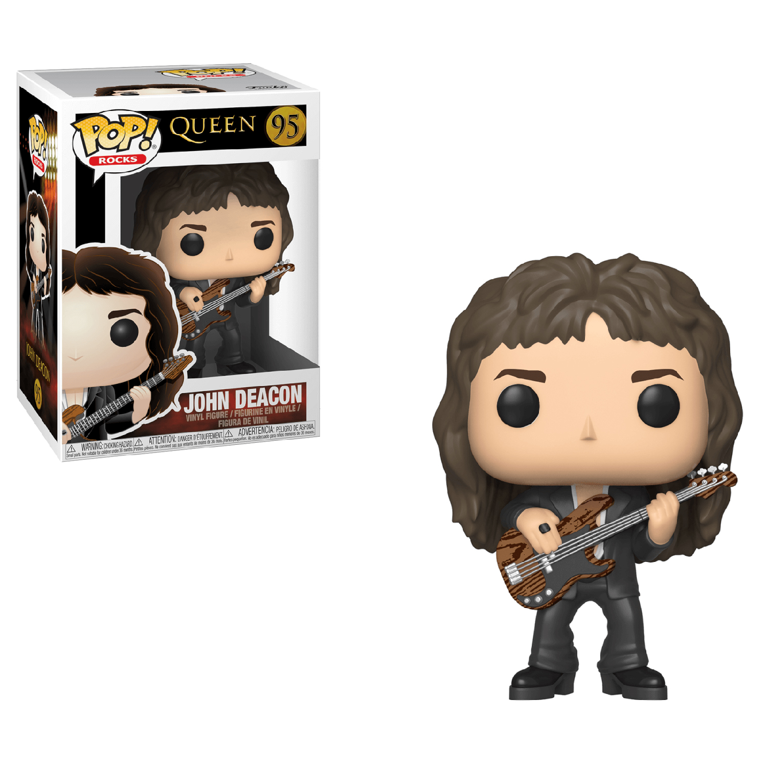 Funko POP Rocks: Queen - John Deacon