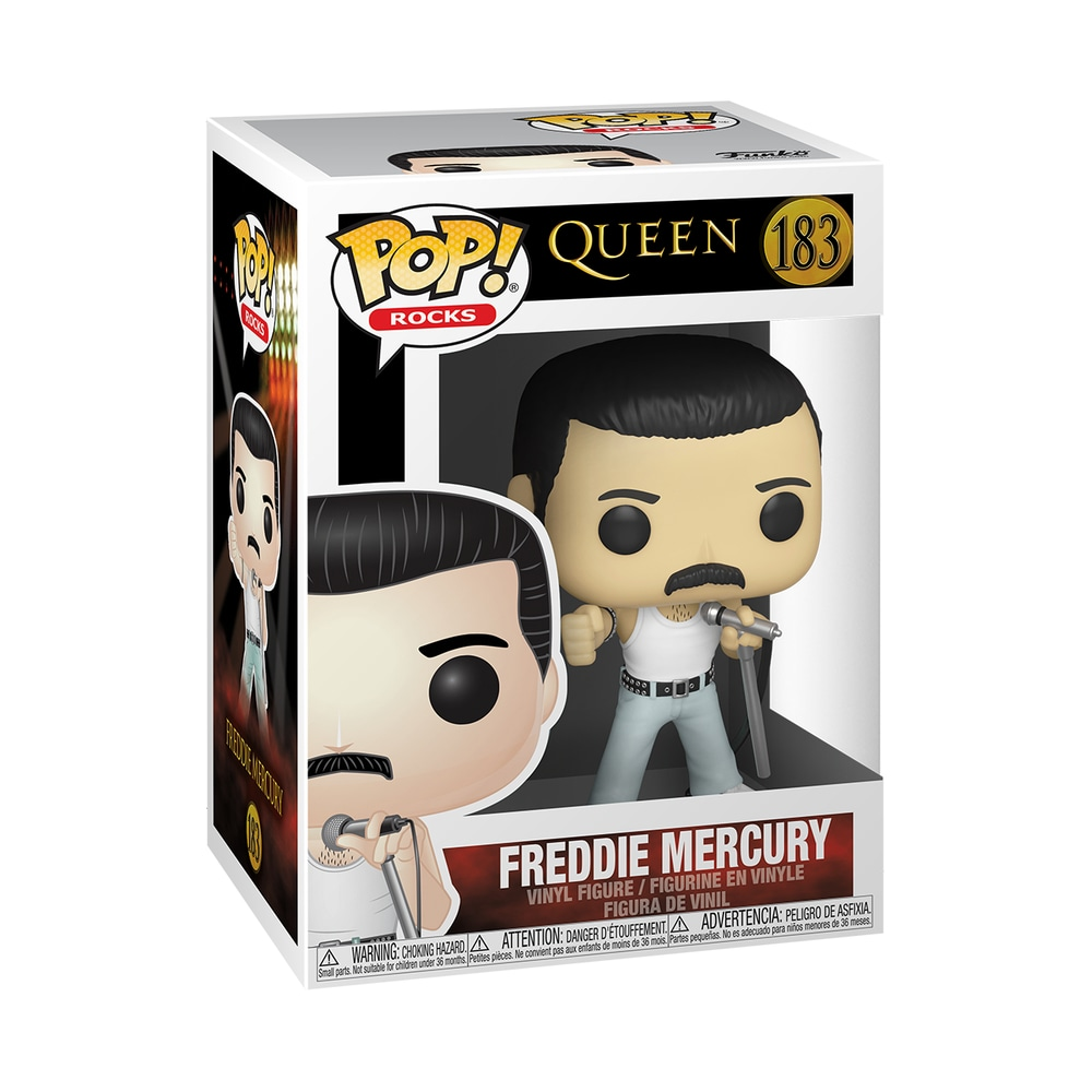 Funko POP Rocks: Queen- Freddie Mercury Radio Gaga