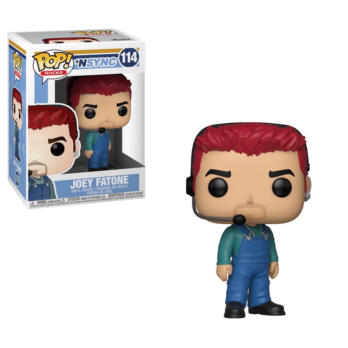 Funko POP Rocks: NSYNC - Joey Fatone