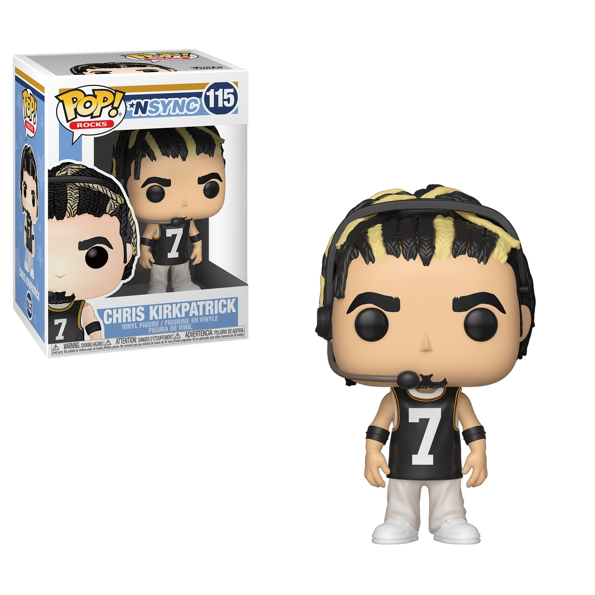 Funko POP Rocks: NSYNC - Chris Kirkpatrick
