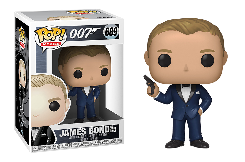 Funko POP Movies: James Bond S2 - DanielCraig(CasinoRoyale)