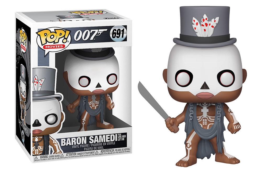 Funko POP Movies: James Bond S2 - Baron Samedi