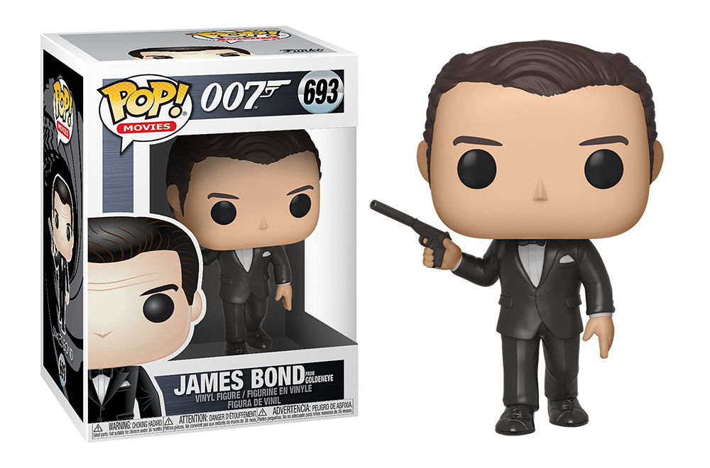 Funko POP Movies: James Bond S2 - Pierce Brosnan(Goldeneye)