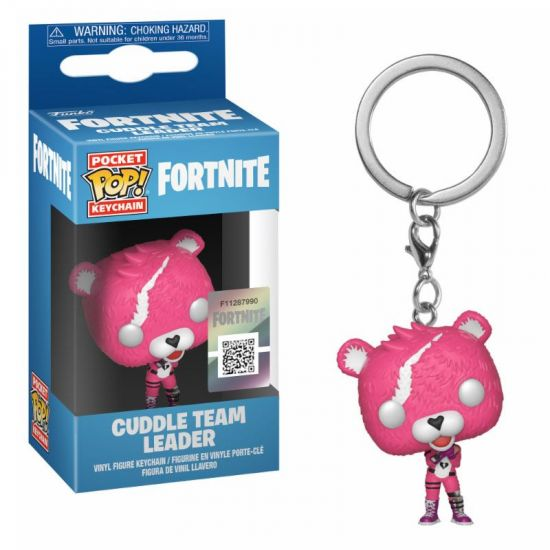 Funko Pop Keychain: Fortnite S1 - Cuddle Team Leader