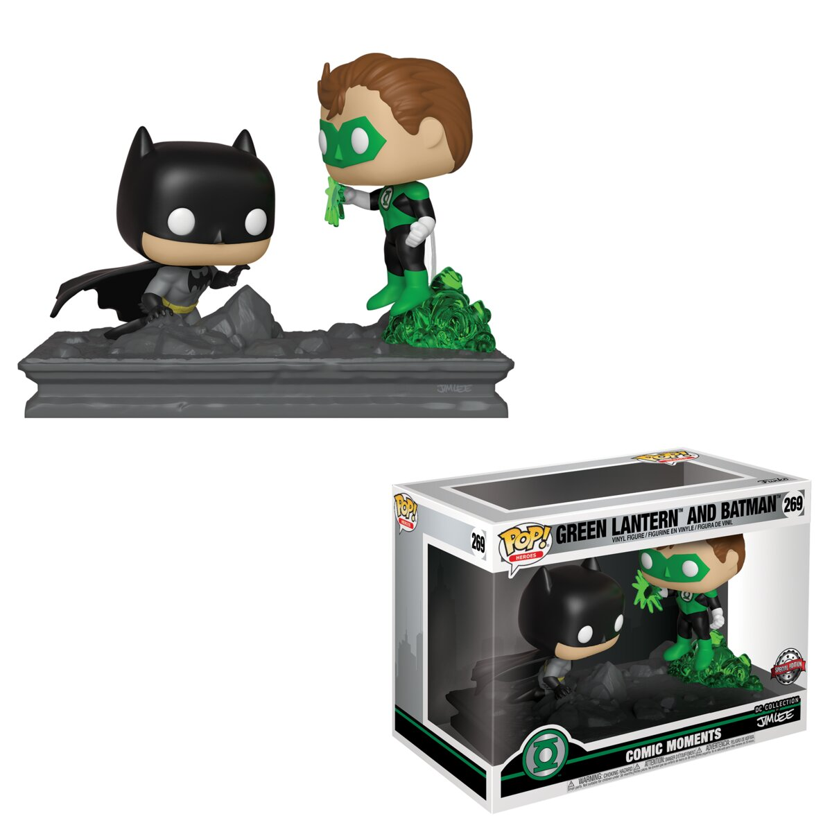 Funko POP DC: Comics Moments - Green Lantern & Batman