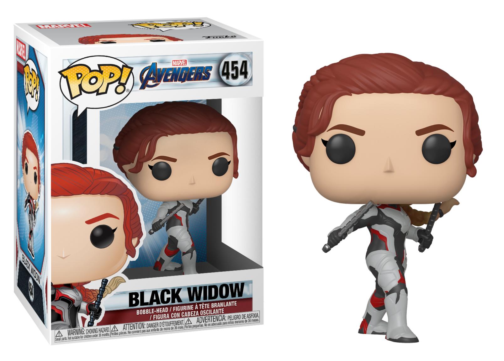 Funko POP Marvel: Avengers Endgame - Black Widow