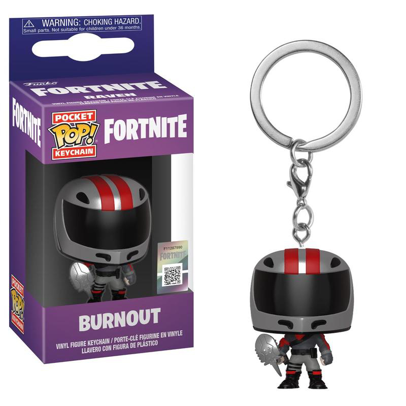 Funko POP Keychain: Fortnite S2 - Burnout