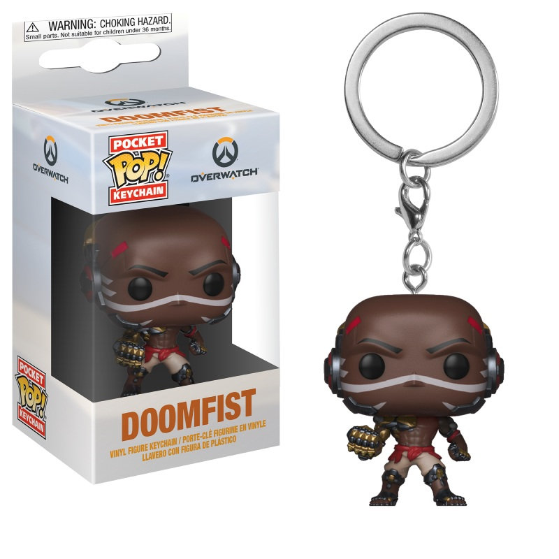 Funko POP Keychain: Overwatch- Doomfist