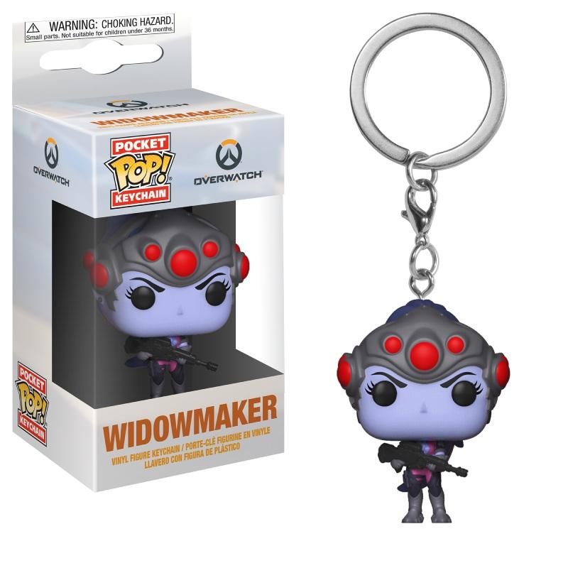 Funko POP Keychain: Overwatch- Widowmaker