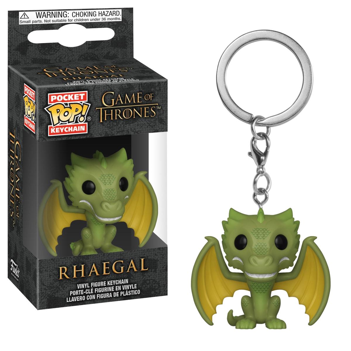 Funko Pop Keychain: GOT S10 - Rhaegal