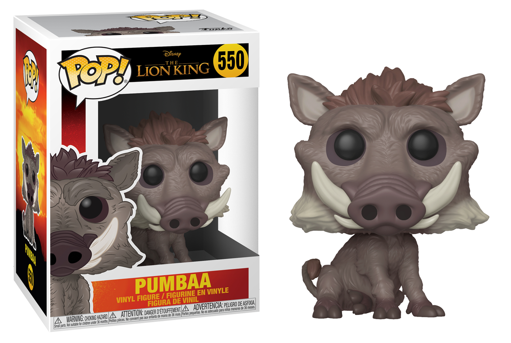 Funko POP Disney: The Lion King - Pumbaa