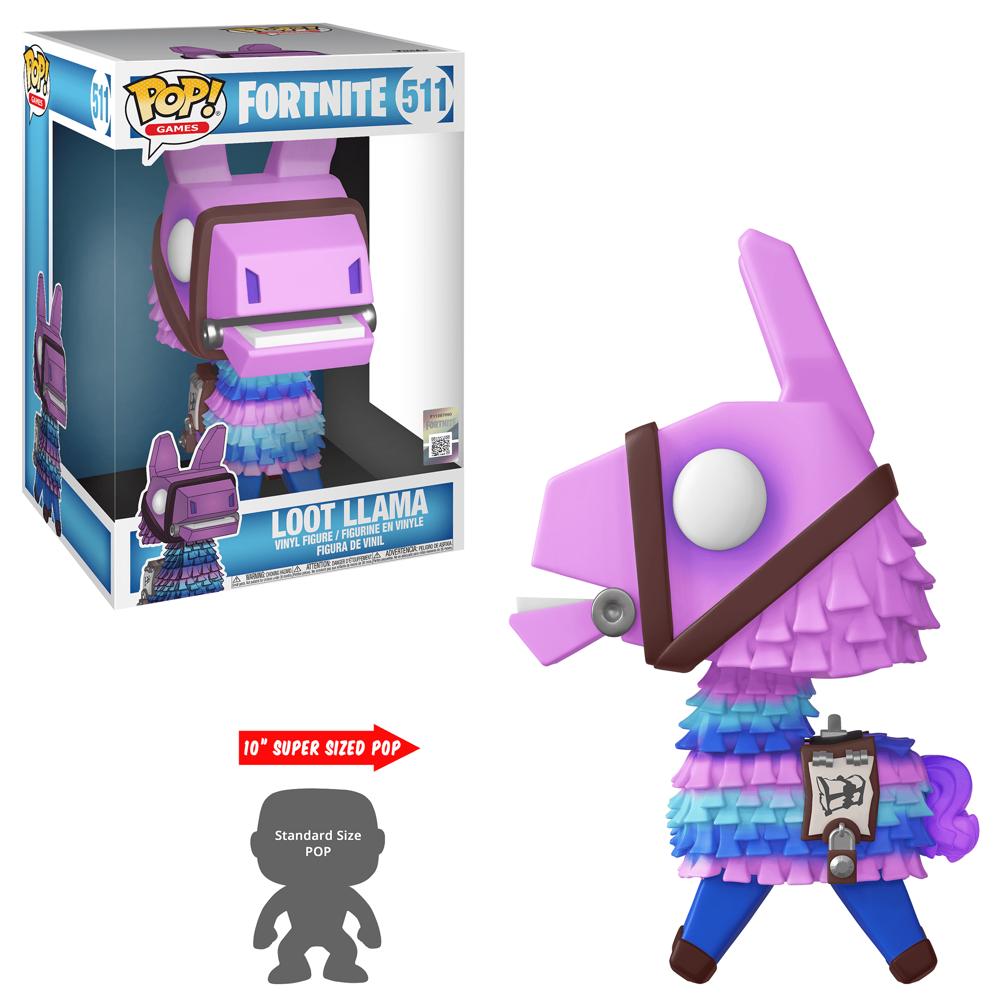"Funko POP Games: Fortnite S3 - 10"" Loot Llama"