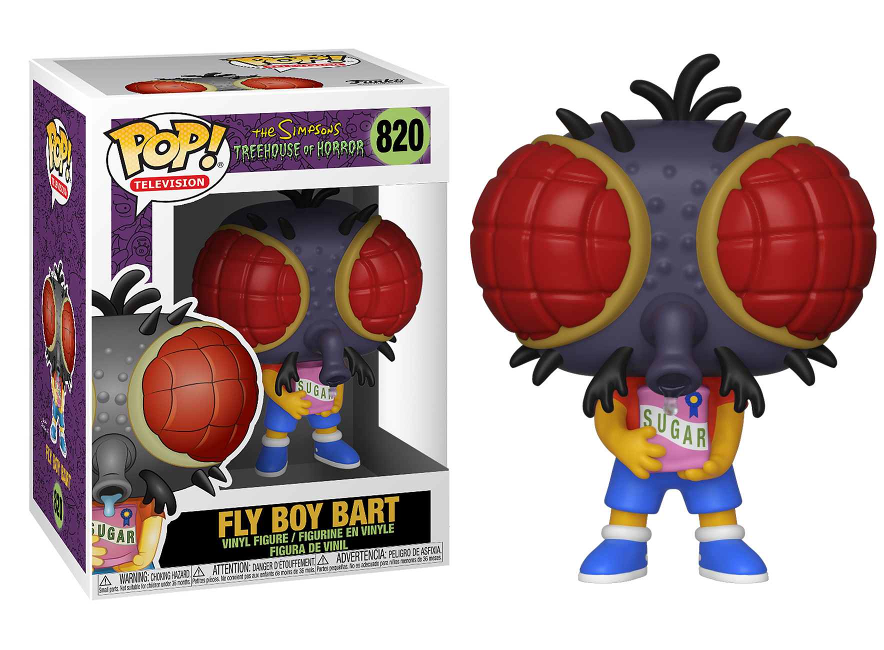 Funko POP Animation: Simpsons S3 - Bart Fly