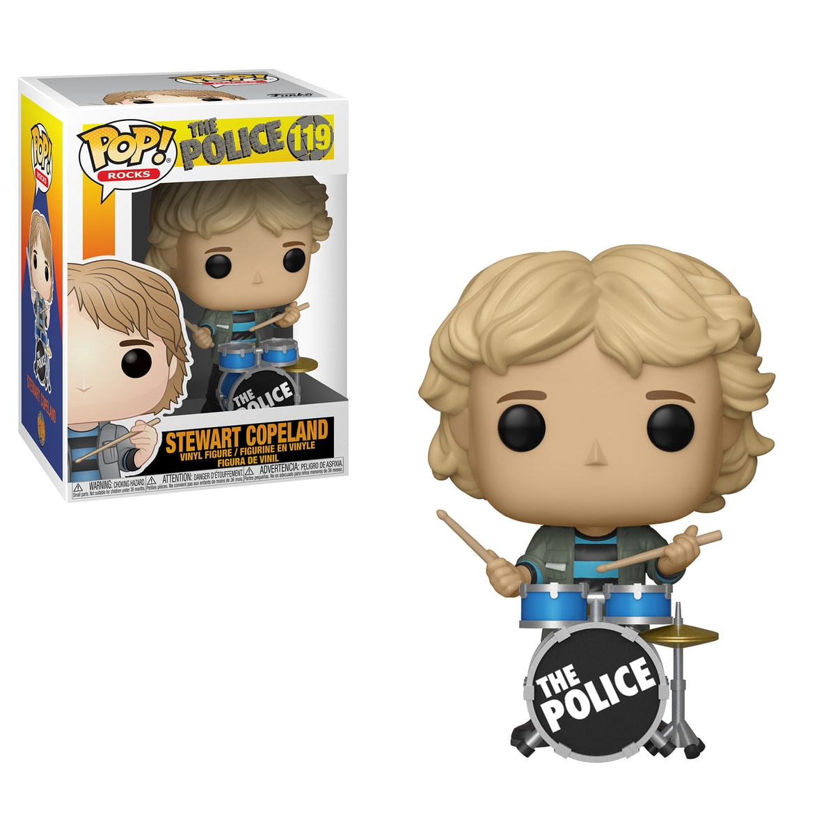 Funko POP Rocks: The Police - Stewart Copeland