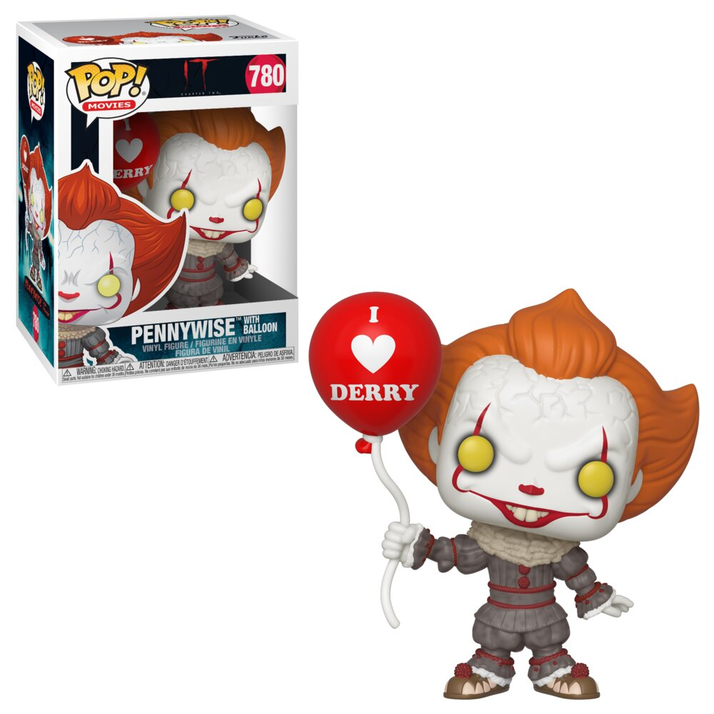 Funko POP Movies: IT 2 - Pennywise w/ Balloon