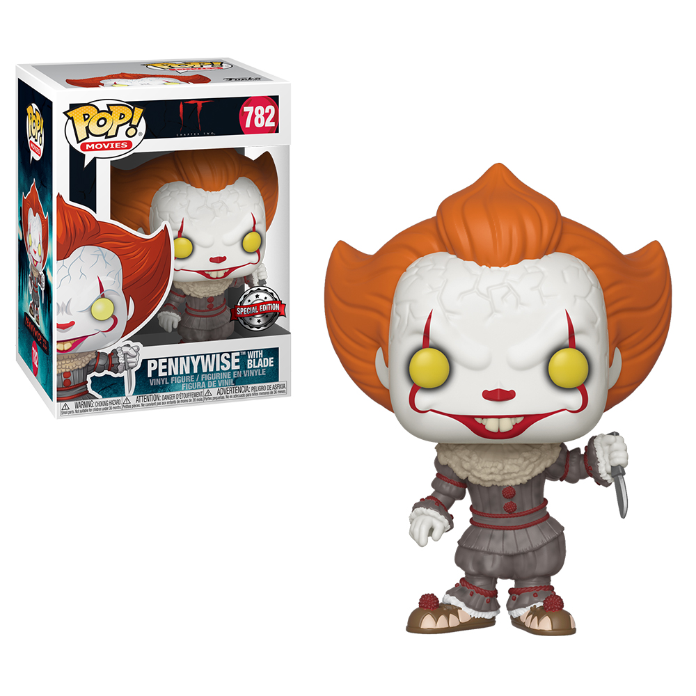Funko POP Movies: IT 2 - Pennywise w/ Blade