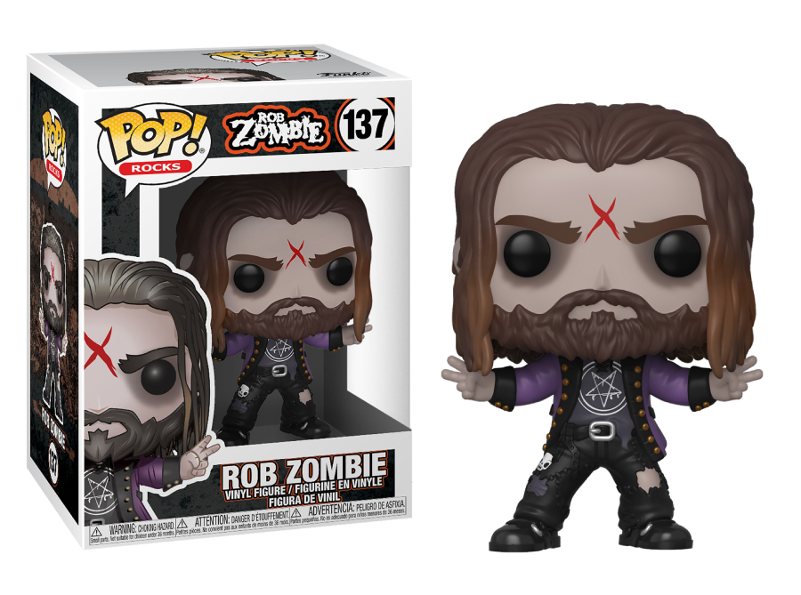 Funko POP Rocks: Rob Zombie – Rob Zombie