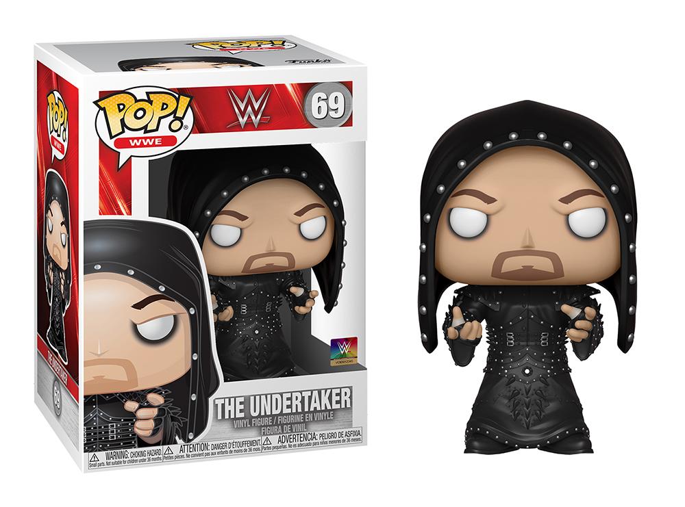 Funko POP WWE: Undertaker (hooded)