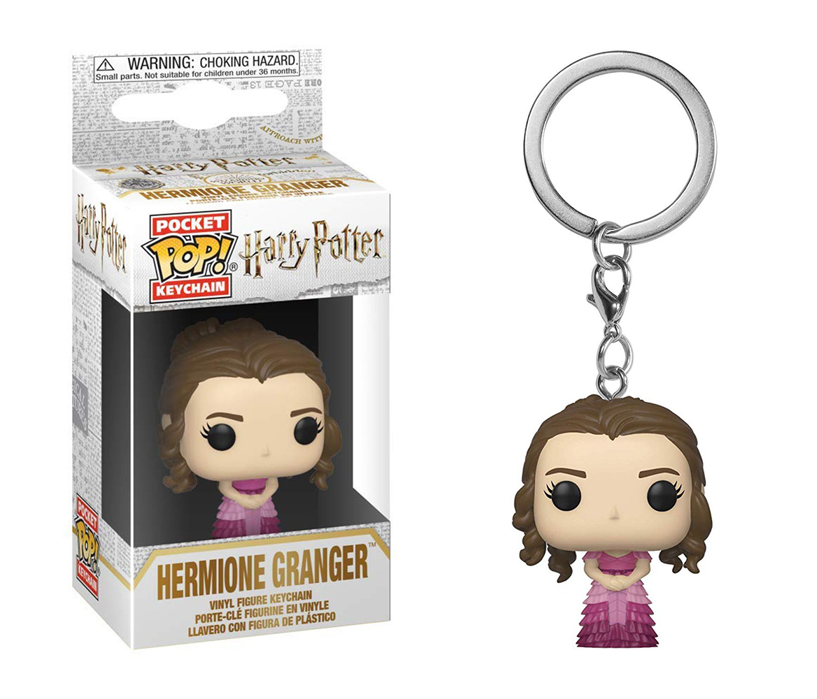 Funko POP Keychain: Harry Potter - Hermione (Yule)