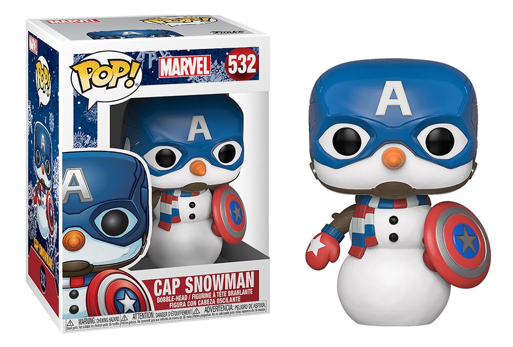 Funko POP Marvel: Holiday S2 - Capt America