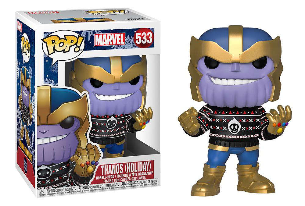Funko POP Marvel: Holiday S2 - Thanos